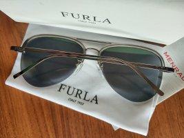 Furla Aviator Glasses anthracite-slate-gray