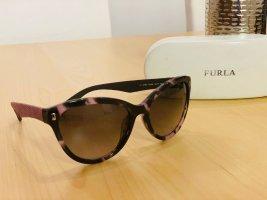 Furla Bril zwart-roségoud