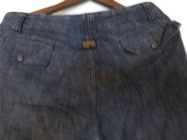 G-Star Jeans 3/4 bleu foncé coton