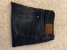 Gstar Low Rise jeans donkerblauw-azuur