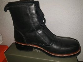 Gstar Halfhoge laarzen zwart-bruin Leer