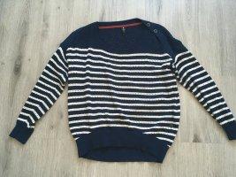 G-Star Deril Knit, gestreifter Pullover, Größe S