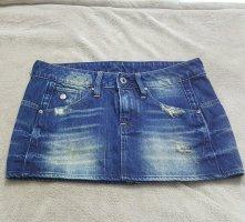 G Star destroyed mini jeans Rock