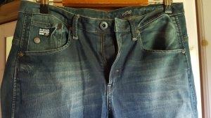 G-Star Raw Baggy Jeans neon blue mixture fibre