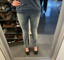 G-Star Pantalon taille basse bleu clair