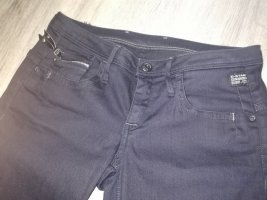 G-Star Workowate jeansy ciemnoszary-antracyt Tkanina z mieszanych włókien