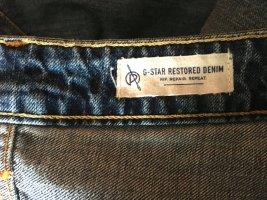 G-STAR RAW 3301 Denim Jeansy typu biker stalowy niebieski