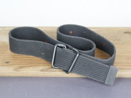 G-Star Raw Canvas Belt dark grey cotton