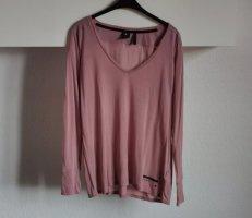 G-Star Raw T-shirt col en V vieux rose