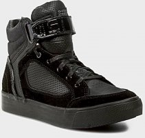 G-Star Raw High top sneaker zwart Leer