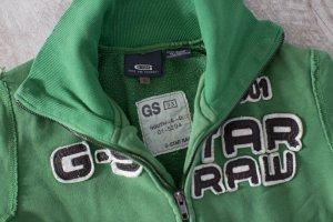 G-Star Veste sweat vert coton
