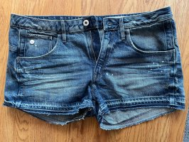 G-Star Shorts white-dark blue