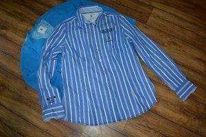 Gaastra Bluse mit Streifen mit Stickereien aus Baumwolle 42