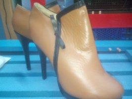 Stretch Boots dusky pink
