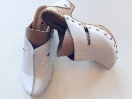 Gabor Comfort Socque blanc cuir