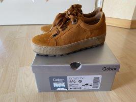 Gabor Comfort sneaker Gr 37,5 Curry Schuhe Np 109,95