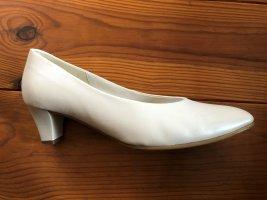 Gabor Pumps off-white Nappa-per. 1x getragen Hochzeit
