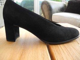 Gabor Loafers black suede