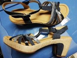 Gabor Sandalo con cinturino multicolore