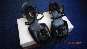 Gabor Sandalette Größe 37,5, schwarz