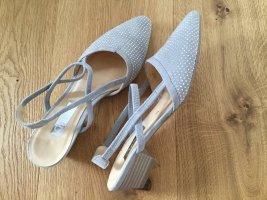 Gabor Comfort Sandals light grey suede