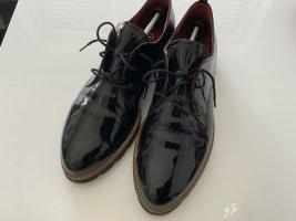 Gabor schwarze Lackleder Loafer