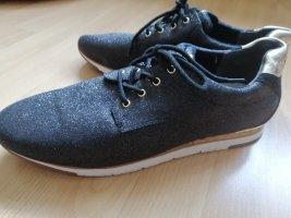 GABOR Sneaker schwarz glänzend 43