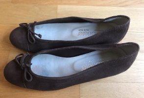 Gabriele By G.Beni Velourleder Ballerinas
