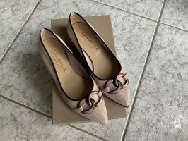 """""""Gabriele Made In Italy"""" Flache Pumps 5666-Candy/Nero"""