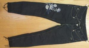Gang 7/8 Length Jeans black
