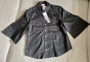 Ganni Camicia blusa nero