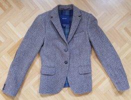 Gant Tweed Blazer brown wool