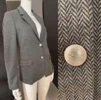 Gant Klassischer Blazer grijs-bruin Wol