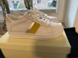 Gant Lace-Up Sneaker white-yellow