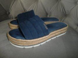 Gant Sabot ciemnoniebieski-niebieski Skóra