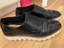 Gant Pantoffels donkerblauw
