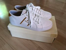 Gant Lace-Up Sneaker white-gold-colored