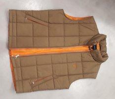 Gant Weste (Herren) Größe XL, Innenfutter: orange außen: okker - neu