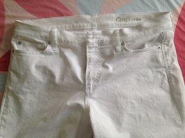 Gap Jeans a 7/8 bianco Cotone