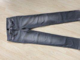 Gap jeans super skinny 26 Röhrenjeans Grau