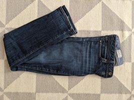 Gap Jeansy z prostymi nogawkami niebieski-stalowy niebieski