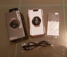 Garmin Vivomove HR Sport / sandfarben / Hybrid Smartwatch (Analog & Digital) / mit Ladekabel, Doku & OVP / WIE NEU