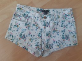 H&M Divided Hot Pants white cotton