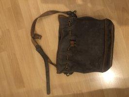 Gebrauchte Hand/Schultertasche in Leder von Zara