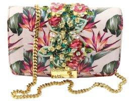 GEDEBE Schultertasche in Rosa aus Leder