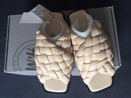 H&M Premium Beach Sandals cream