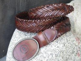 Bogner Cintura intrecciata marrone Lino
