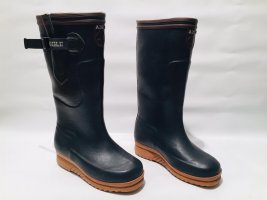 Aigle Wellies forest green synthetic material