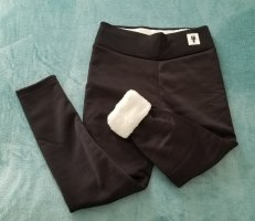 Pantalon thermique blanc-noir