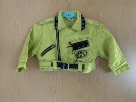 Bomber Jacket lime yellow